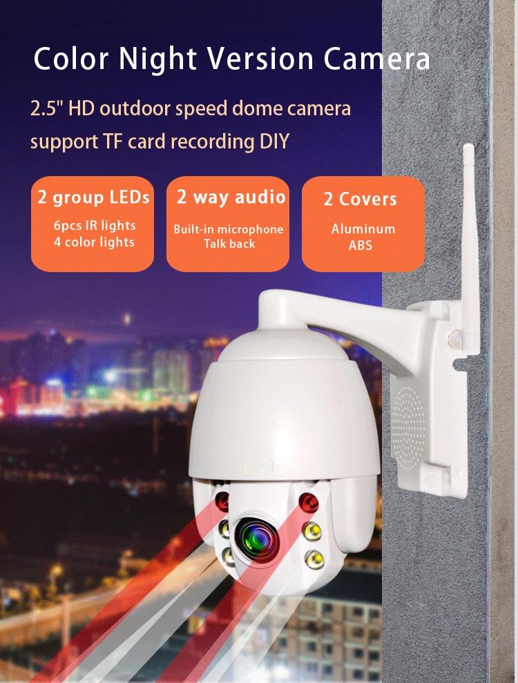 SmartYIBA 1080P FHD WiFi IP Camera Wireless Security Camera Outdoor Video Surveillance Camera with PTZ Motion Detect 4X OpticalSmartYIBA 1080P FHD WiFi IP Camera Wireless Security Camera Outdoor Video Surveillance Camera with PTZ Motion Detect 4X Optical