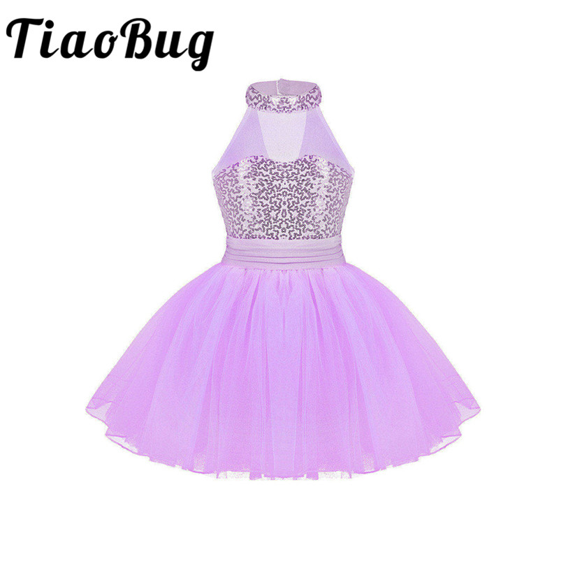 iEFiEL Sequins Hot Sale Flower Girl Dresses Sequined Communication Dress For Wedding Party Birthday Prom Dancewear Kids Dresses