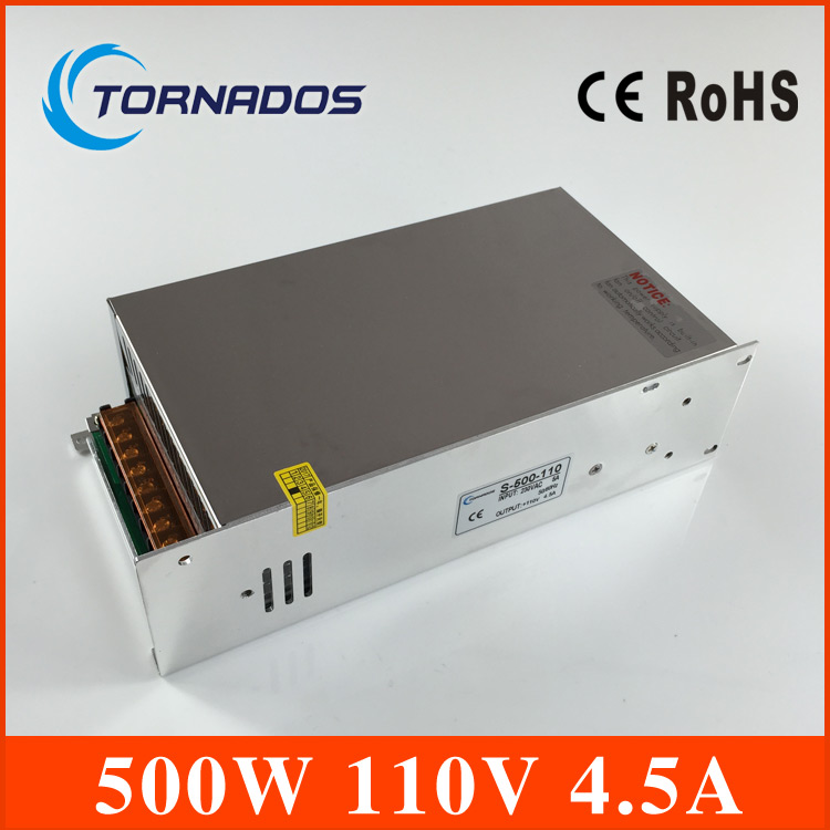 500W 110V 4 5A Single Output Switching power supply for LED Strip light AC to DC