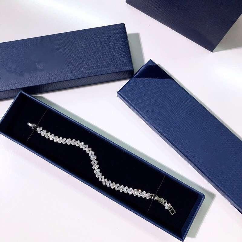 2019 Fashion Jewelry Roman bracelet heart shape bracelet Crystal from Swarovski For Women and female As Cute gifts2019 Fashion Jewelry Roman bracelet heart shape bracelet Crystal from Swarovski For Women and female As Cute gifts