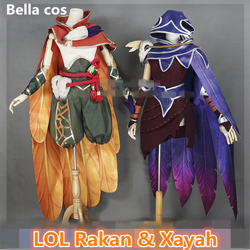 LOL league of legends Rakan The Rebel Cosplay Costume Valentine/'s Day