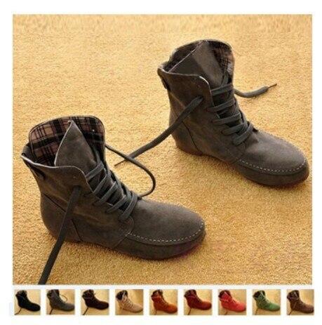 2016ฤดูใบไม้ร่วงผู้หญิงหญิงใหม่รองเท้าแบนลูกไม้รองเท้าข้อเท้าสำหรับผู้หญิงโรมนักศึกษาพลัสSizes34-44ปุ่มตกแต่งรองเท้า