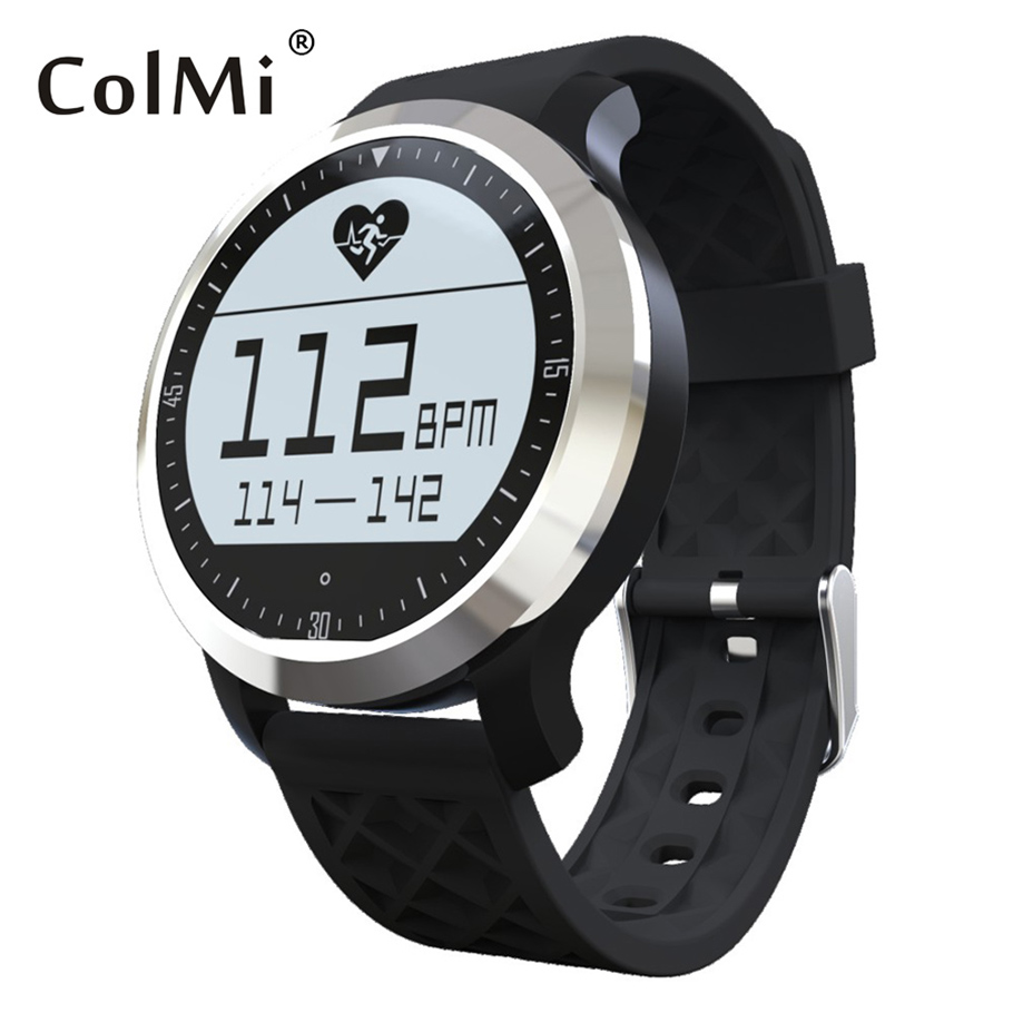ColMi F69 Sport Waterproof Smart Watch IP68 Swimming Mode Heart Rate Monitor For Apple iphone Samsung