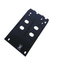 PVC ID tray J type Inkjet card for Canon ip7120 ip7130 ip7180 ip7230 ip7240 ip7250 ip7280 ip7200 ip5400 MG5420 MG5430