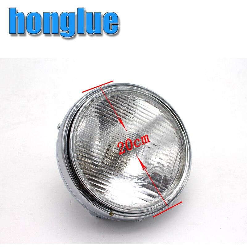 For Honda CB400 / CB1000/CB1300/ VTR250 / Hornet250 Chrome Motorcycle Headlight Motorcycle Head Lamp