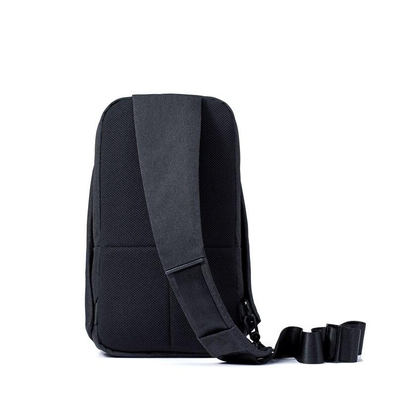 Оригинальный Xiaomi задняя sling bag полиэстер для отдыха груди пакет небольшой Размеры плеча Тип Унисекс Рюкзак Кроссбоди мешок 4l