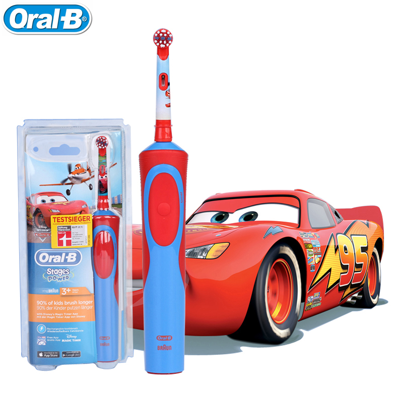 Children Recharging Electric Toothbrushes Oral B Waterproof Gum Care Power Safety Teeth brush for Kids Ages