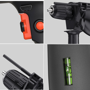 Image 5 - LOMVUM השפעה תרגיל 500w שחור ביתי מברג בית כוח כלים משולב רוטרי כלי חשמלי תרגיל פטיש תרגיל