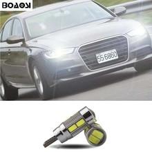 BOAOSI 1x Car LED T10 Canbus W5W No error Wedge Light For AUDI A2 A3 8L 8P A4 B5 A6 4B 4F A8 D2 TT Q3 Q5 Q7 C5 C6 C7 S2 S4