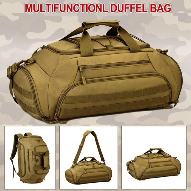 Outdoor Sports Backpack Tactical Army Bags for Men Camping Hunting Rucksack Shoulder Bag Mochilas Tacticas Sac De Sport XA996WD 5