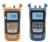 2016 nueva fibra de energía mulmeter fibra medidor de potencia óptica y 1-5 KM visual fault locator en una sola máquina con bolsa de transporte