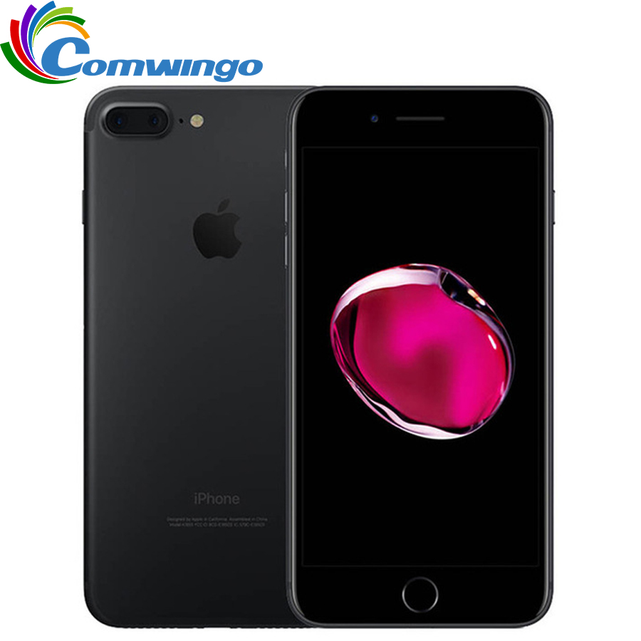 Apple iPhone 7 Plus iPhone 7 3GB RAM 32 GB/128GB/256GB ROM IOS 10 เซลล์โทรศัพท์ 12.0MP กล้อง Quad-Core ลายนิ้วมือ 12MP 2910mA