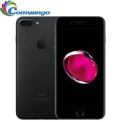 Apple iphone 7 plus iphone 7 3 gb ram 32/128 gb/256 gb rom ios 10 telefone celular 12.0mp câmera quad-core impressão digital 12mp 2910ma