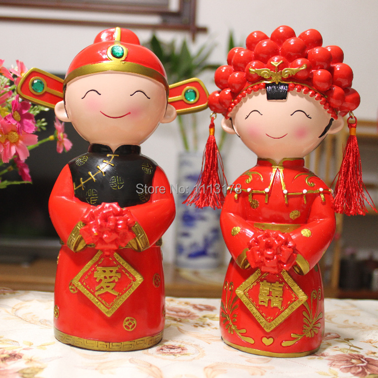 Chinese wedding cake toppers bride and bridegroom figurine cake chinese wedding cake toppers bride and bridegroom figurine cake topper decoration valentines day gift in cake decorating supplies from home garden on junglespirit Choice Image