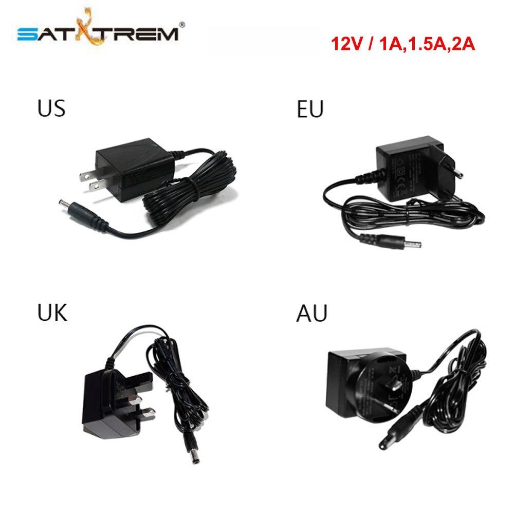Satxtrem 110V-240V to 12V/ <font><b>2A</b></font>, 1.5A, 1A 24W DC <font><b>Adapter</b></font> Power Supply <font><b>Charger</b></font> EU US UK AU Plug For Smart TV Box Satellite Receiver