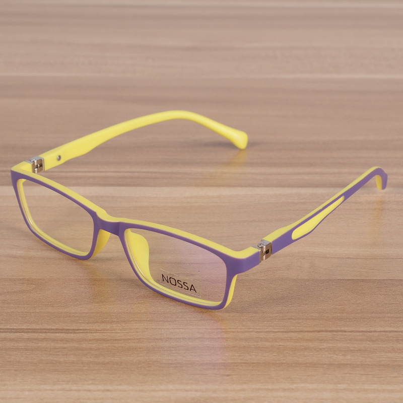 Kids Eyeglasses Barn Unbreakable TR90 Glasses Frame Optiska - Kläder tillbehör - Foto 4