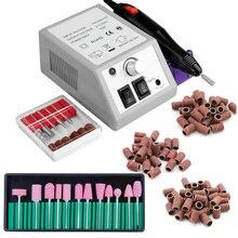 Elektrische Gerät für Maniküre Nagel Bohrer Gel nagellack Entferner Fräsen Bohrer Set Pediküre Schneider Maniküre Maschine Set