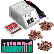 Elektryczne urządzenie do frez do Manicure żel do usuwania lakieru do paznokci zestaw wierteł do frezowania Pedicure frezy maszyna do Manicure zestaw