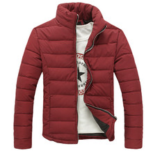 Top quality Men's  Brand Duck Down Jackets Parkas Winter Jackets Coat Stand Collar