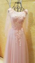 Echt Spitze Formale Abendkleider Kleider 2016 Elegante Pailletten Blumen Abendkleid Abendkleid Günstige Lange Abendkleider RE05