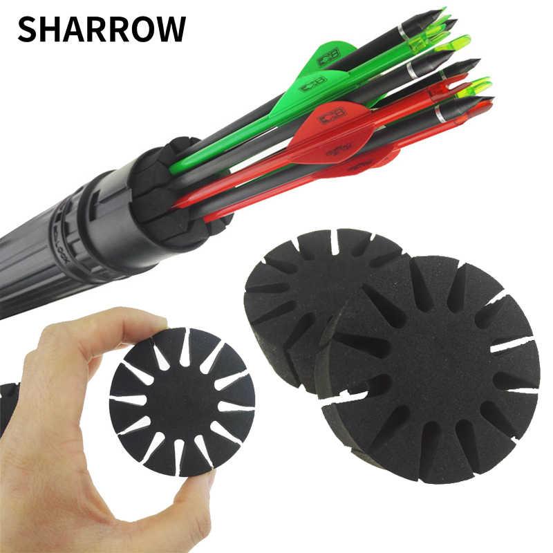 2Pcs Black EVA Foam Arrow Protection Racks Holders Archery Arrow Case CarODUS