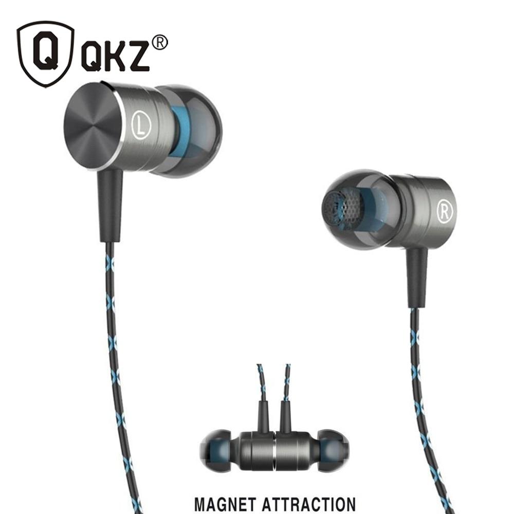 QKZ X41M Magnetische Kopfhörer HIFI Fieber in-ohr Kopfhörer Transiente HeadSet Schwere niedrige qualität ohrhörer Virulent Gesang