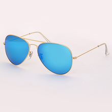 3025 sunglasses TAC polarized 58mm solid color glass lens for men woman