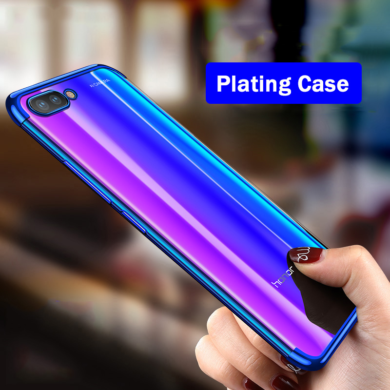 For Huawei Honor 10 Case Luxury Plating Soft Clear Cover Phone Cases For Huawei Honor 10 Lite P20 Lite Pro Honor View 10