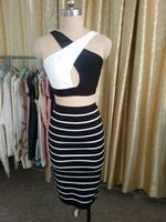 2015 Fashion hot sprzedam sexy sukienka bez rękawów halter bandaża sukni alibaba ekspresowe