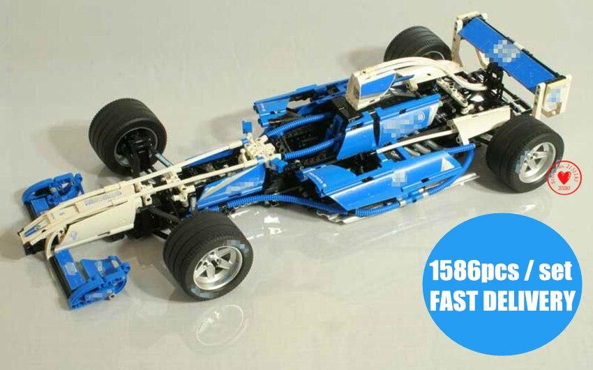 Здесь продается  New City Technic Williams F1 Team Racer fit legoings technic city model Building Block Bricks 8461 gift kid boys toy set  Игрушки и Хобби