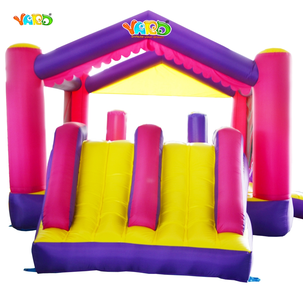 YARD Free Shipping Inflatable Bouncer Dual Slide Obstacle Castle Combo For Home Use yard free shipping bouncy dream castle inflatable jumper bouncer 6 in 1 all round obstacle combo for home use