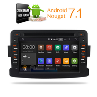 Android 7 1 For Renault Duster Dacia Logan Sandero Car DVD Stereo HeadunitAuto Radio RDS