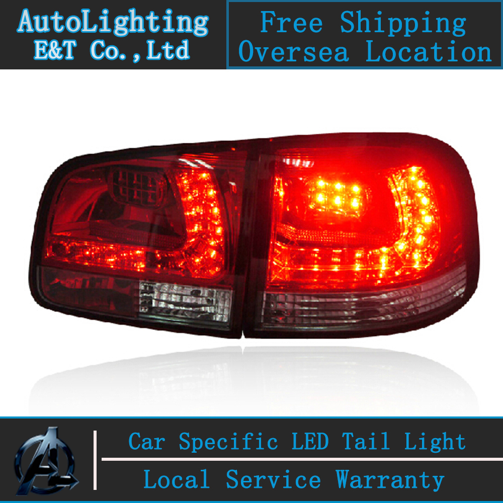 Auto Lighting Style LED Tail Lamp for VW Touran led tail lights 2006-2010 rear trunk lamp cover drl+signal+brake+reverse