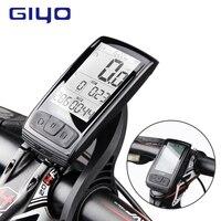 GIYO Wireless Bicycle Computer Mount Holder Bluetooth 4.0 Bicycle Speedometer Speed/Cadence Sensor Waterproof Bike Computer