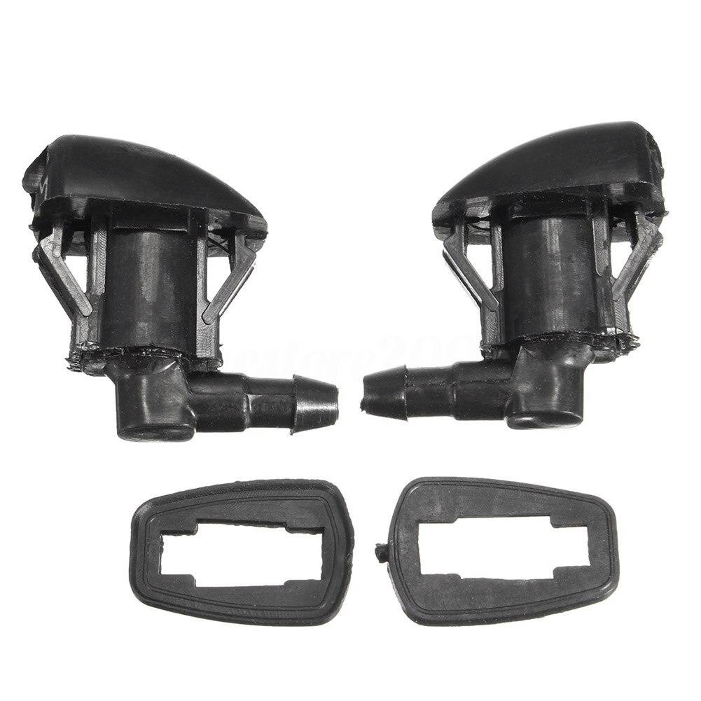 2Pcs Auto Windshield Washer Nozzle Spray Jet For Toyota Corolla Camry E120 03-06 CSL2017