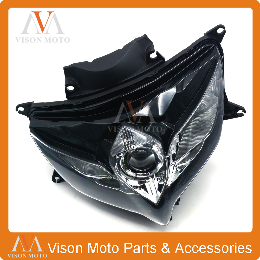 Motorcycle Front Light Headlight Head Lamp For SUZUKI GSXR600 GSXR750 <font><b>GSXR</b></font> <font><b>600</b></font> 750 <font><b>2008</b></font> 2009 2010 08 09 10 image