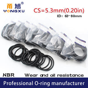 50x 87 x 3.5mm Nitrile 70 O/'Ring