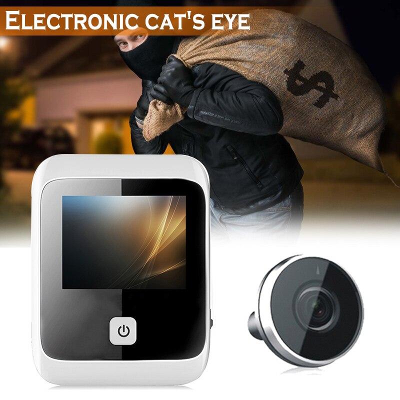 LCD Digital Viewer PIR Door Eye Doorbell Video Intercom HD IR Camera Anti-theft LCCLCD Digital Viewer PIR Door Eye Doorbell Video Intercom HD IR Camera Anti-theft LCC