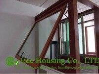 Awning aluminum Window For Apartment / Villas, Double Glazed Windows /Single Glaze Awning Window