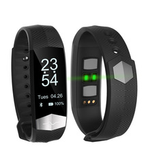 OLED Screen Smart Bracelet Fitness ECG PPG Pulseira Inteligente  Blood Pressure Tonometers Wristband Pedometer Activity Tracker