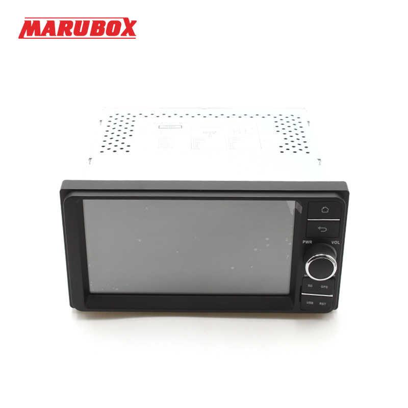 """Marubox M701DT8 Универсальная магнитола для Toyota на Android 7.1,восьмиядерный процессор Allwinner T8,оперативная память 2 Гб, встроенная память 32Гб, 7"""" IPS 1024 * 600 HD,GPS, Radio, Bluetooth, WI-FI, 3G,4G, USB"""