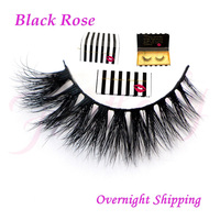 Free Shipping New Arrival Top Quality Soft 100 Real Handmade Siberian Mink Strip Lashes