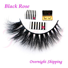 wholesale Free shipping new arrival top quality soft 100 real handmade siberian mink strip lashes 3d