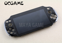 OCGAME original NEW LCD Screen Assembled for PS Vita PSV Psvita 2 2000 Display LCD Screen Assembled Black Color
