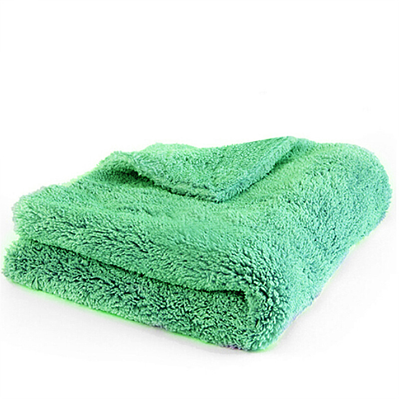 "BEST!!!Plush Microfiber Edgeless Towel 16""X16"" 100% Scratch Free Perfect For Auto Detailing, Washing, Interior Cleaning"