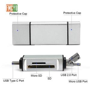 Image 3 - Micro USB sang Type C Adapter Hỗ Trợ Micro SD/Thẻ SD/MMC/Đầu Đọc USB Truyền Dữ Liệu OTG bộ Chuyển đổi Hỗ Trợ cho trang sức giọt