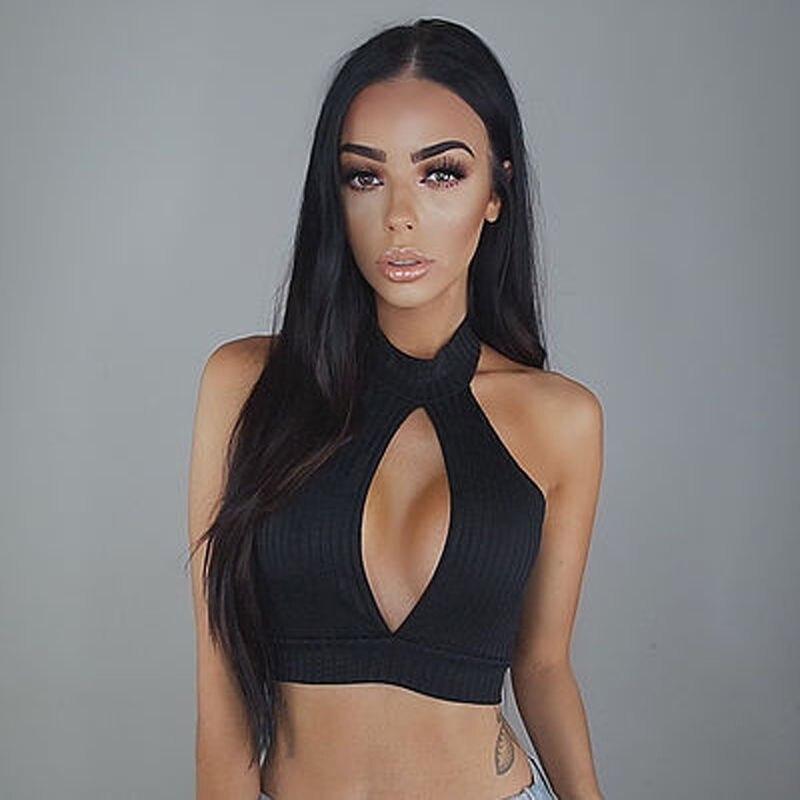 Sexy Women   Tank     Tops   Bustier Bra Vest Crop   Top   Bralette Sleeveless Casual Blouse