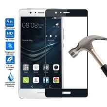 9H Premium 2.5D 0,3 мм защитная пленка от царапин для Huawei P9 Lite закаленное стекло для Huawei P9 Lite полная защита экрана