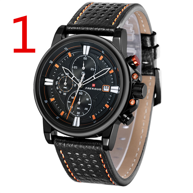 New multi-function movement watch mens calendar mens watch 2531#New multi-function movement watch mens calendar mens watch 2531#
