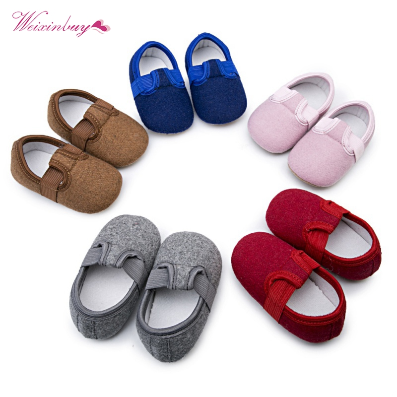 Baby Shoes First Walkers For Girls Kids Nubuck Baby Knitting Newborns Infantil Soft Footwear Shoes Sneakers Winter Autumn Shoes